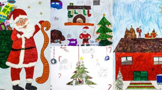 Χριστούγεννα 2017 - Μαθητικές δημιουργίες